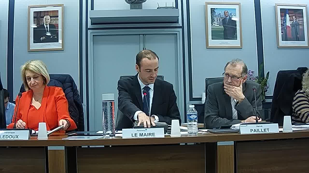 Adoption du procès-verbal du conseil municipal - Séance du 16 octobre 2017