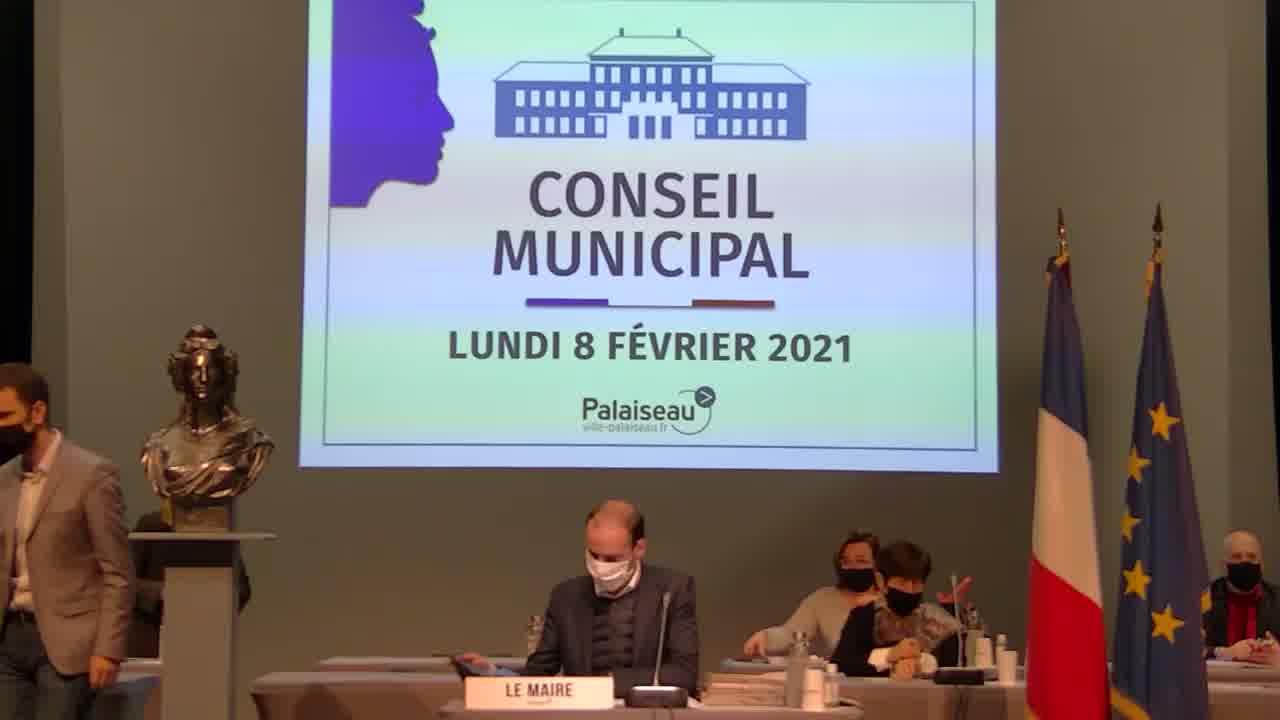 Mairie de Palaiseau - Conseil Municipal du 8 février 2021