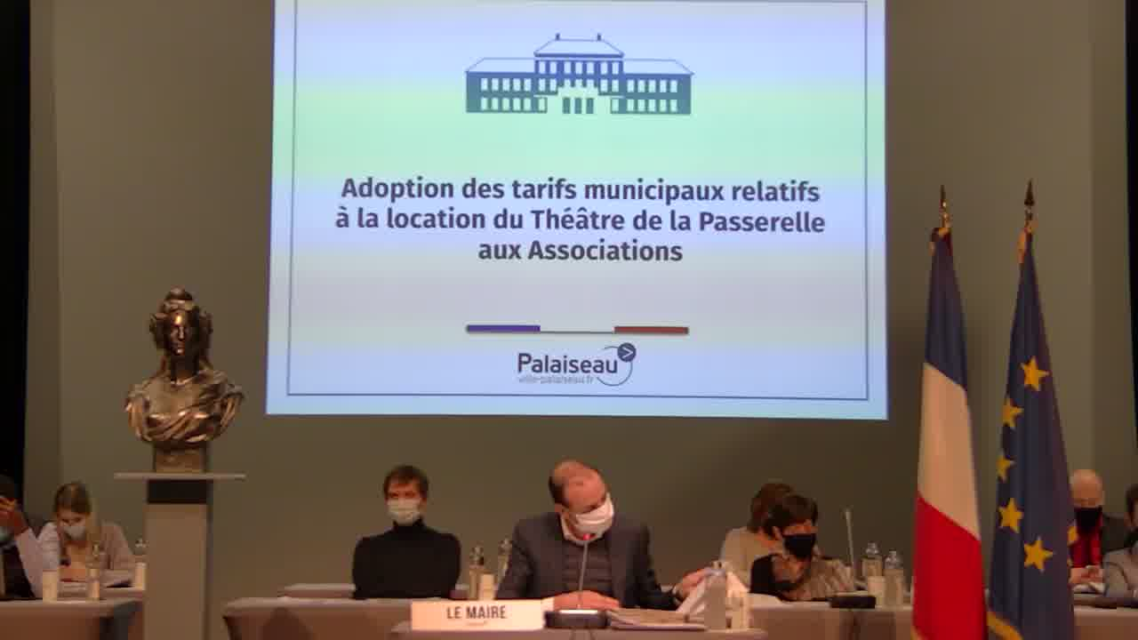Association L'Essor Palaisien - Convention pluriannuelle d'objectifs 2021-2024