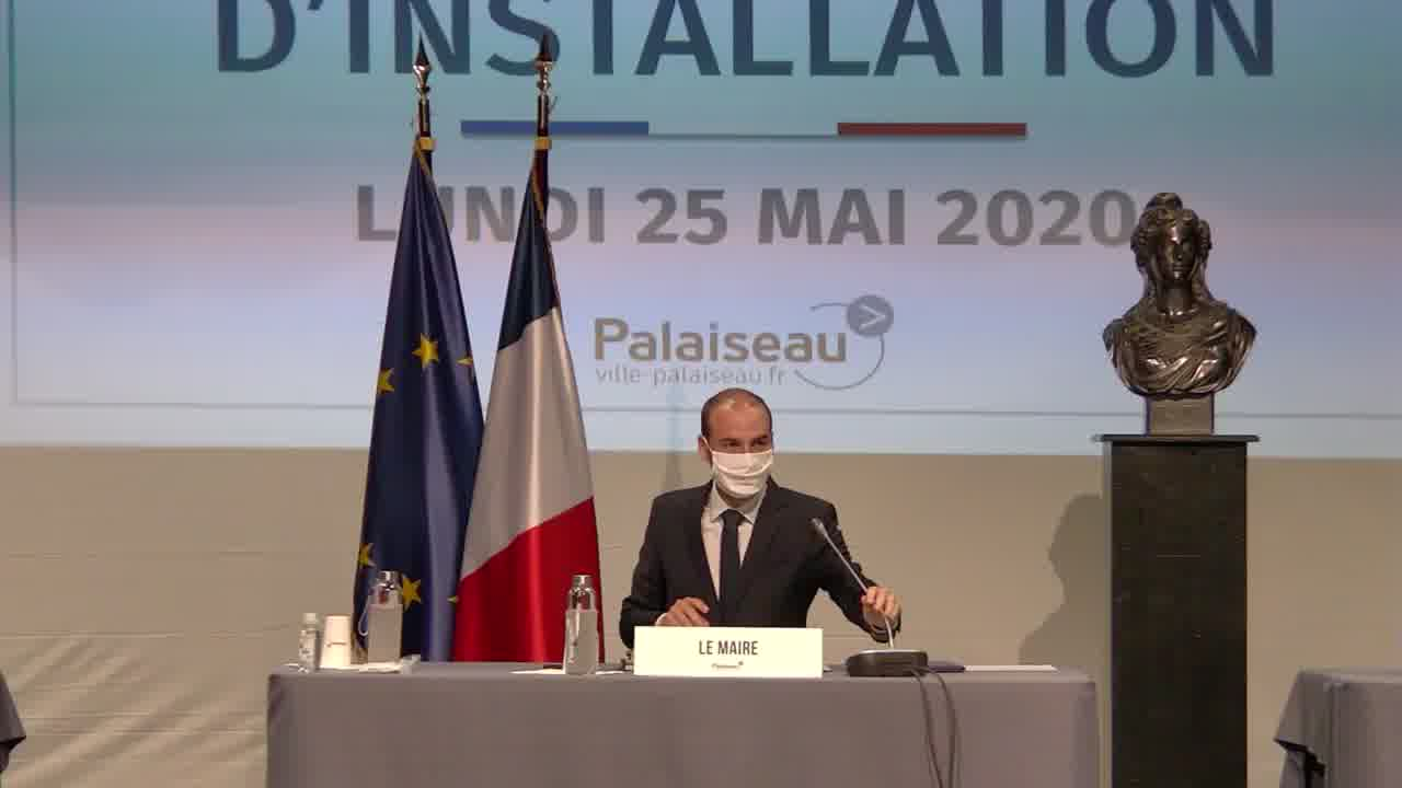 Mairie de Palaiseau - Conseil Municipal du 25 mai 2020