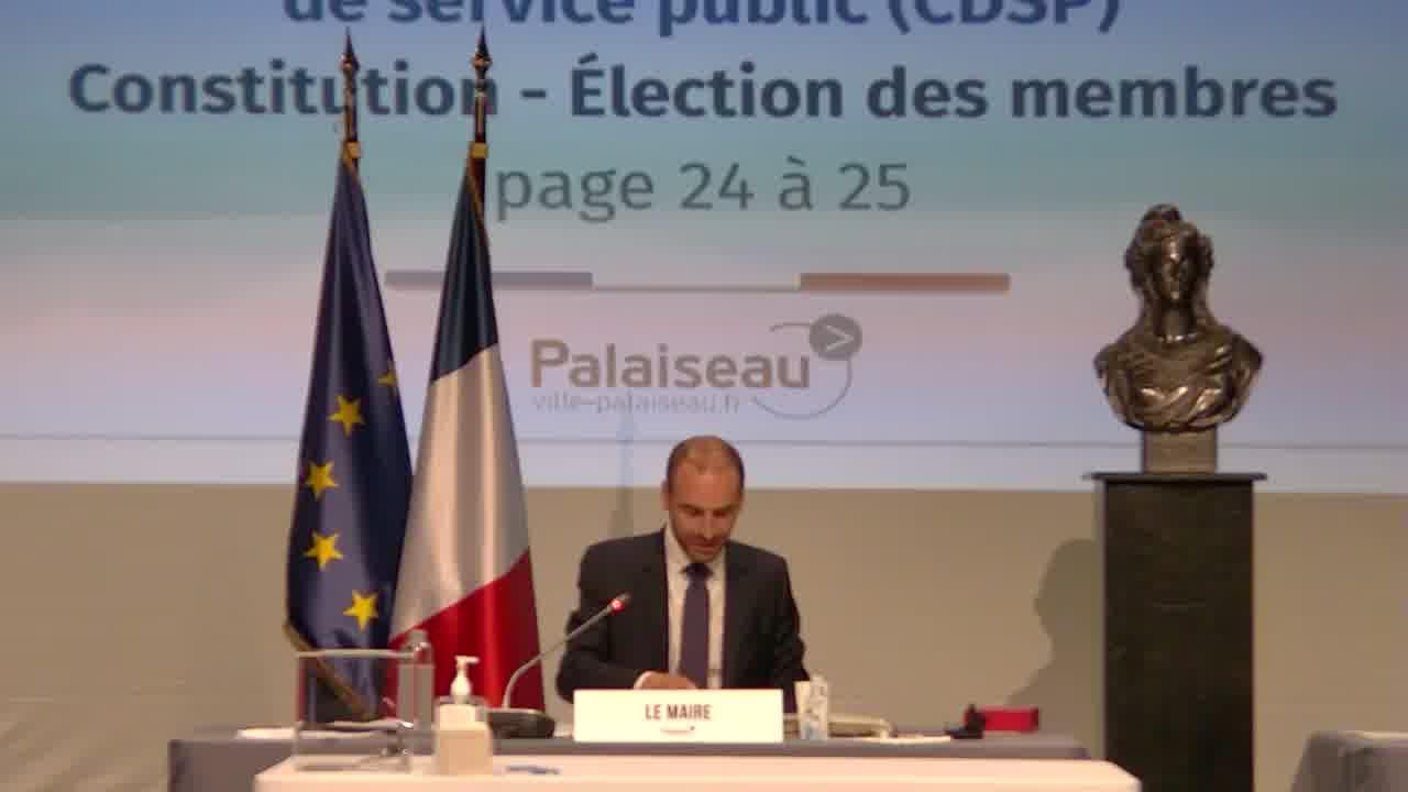 Concession d'aménagement - Commission d'aménagement – Constitution – Election des membres