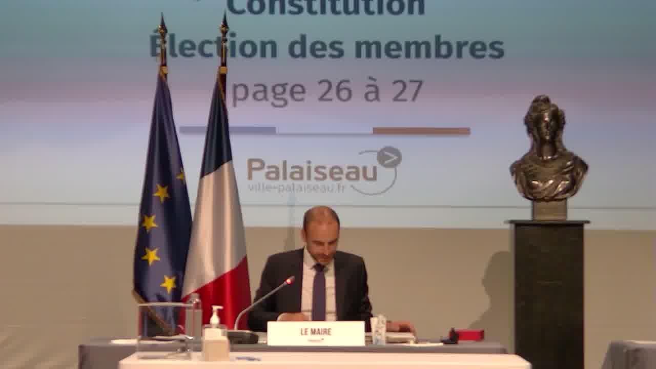 Commissions communales - Conseil d'exploitation et direction de la régie des marchés forains - Constitution et élection des membres