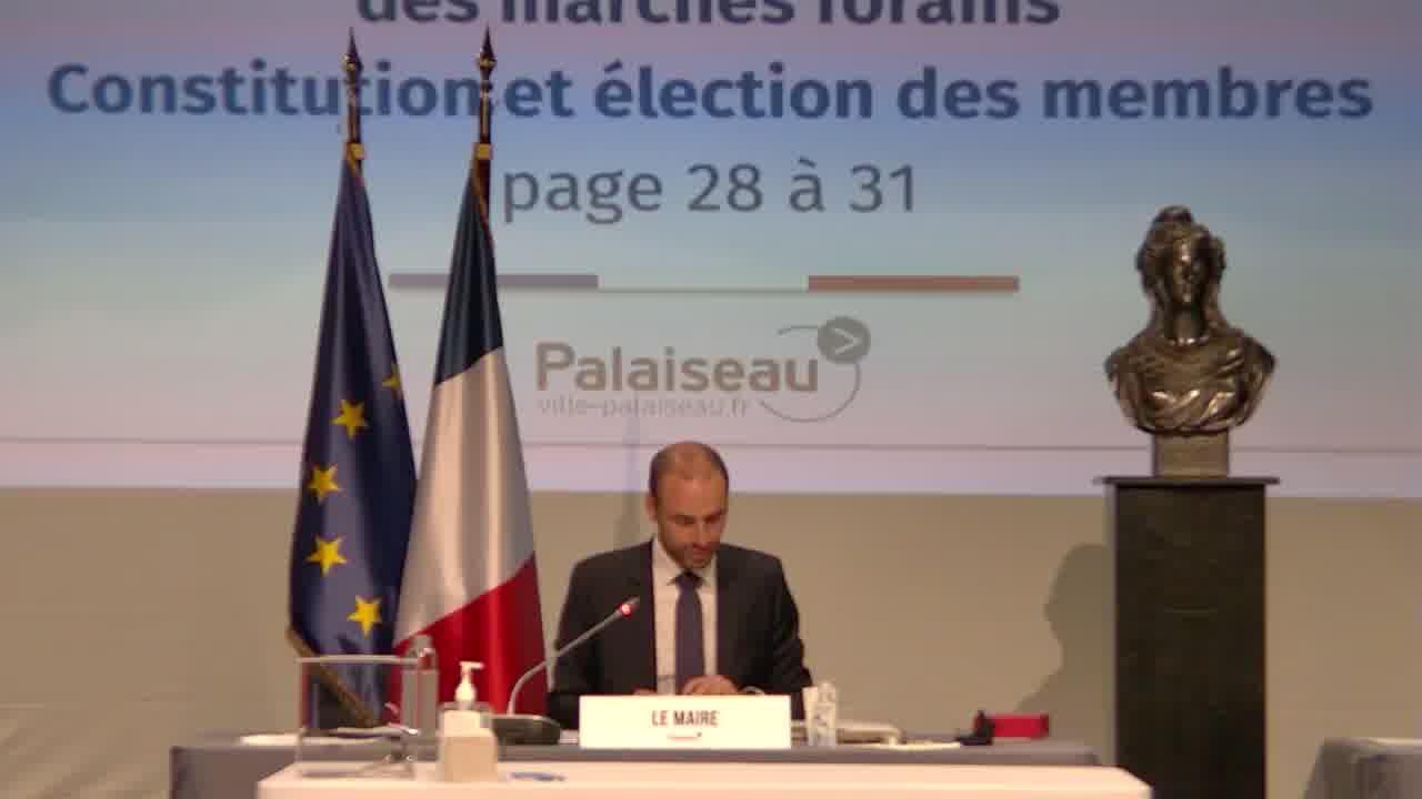 Commissions communales - CCSPL - Commission Consultative des Services Publics Locaux - Constitution et élection des membres