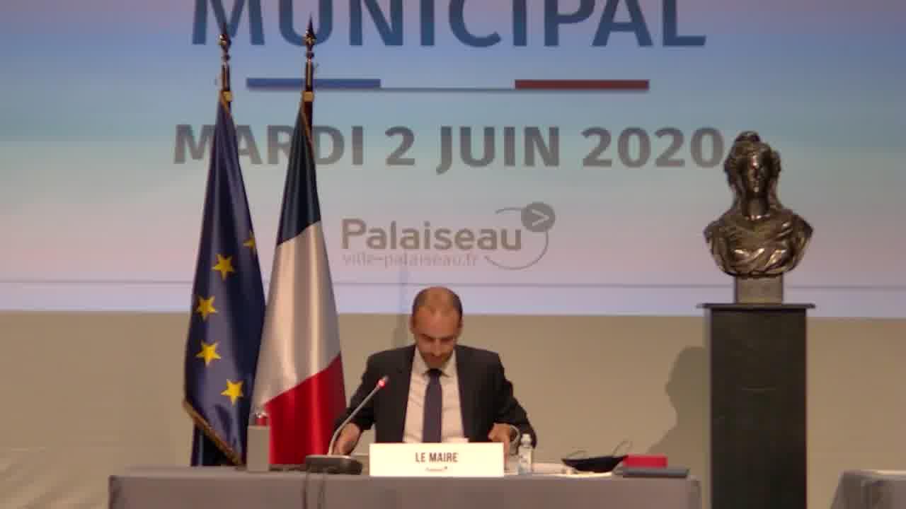 Démission de M. Matthieu PASQUIO, conseiller municipal - Installation d'un nouveau conseiller municipal