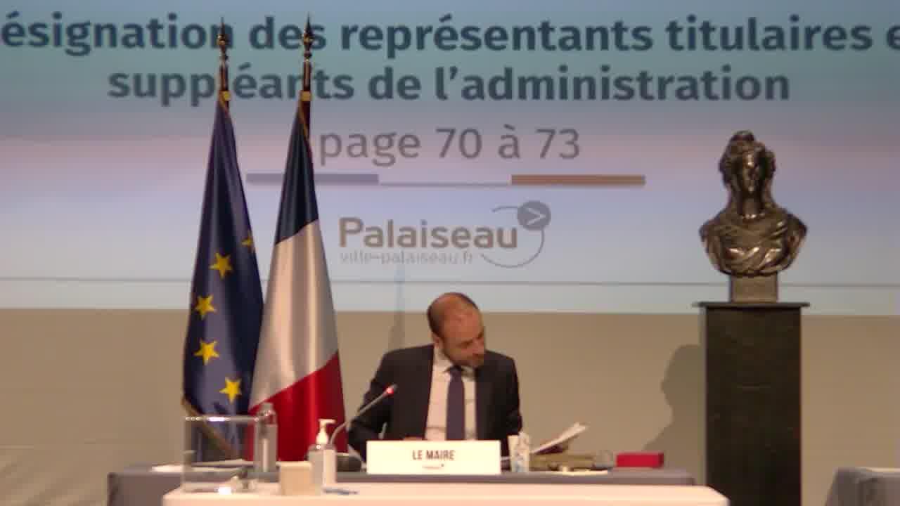 Représentation au sein des organismes extérieurs - Commission de Réforme – Désignation des représentants titulaires et suppléants de l'administration
