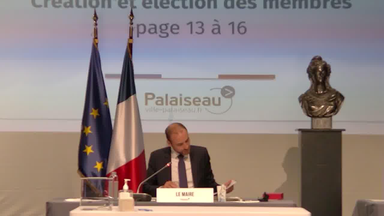 Contrats de la commande publique - Commission d'appel d'offres (CAO) – Constitution – Election des membres