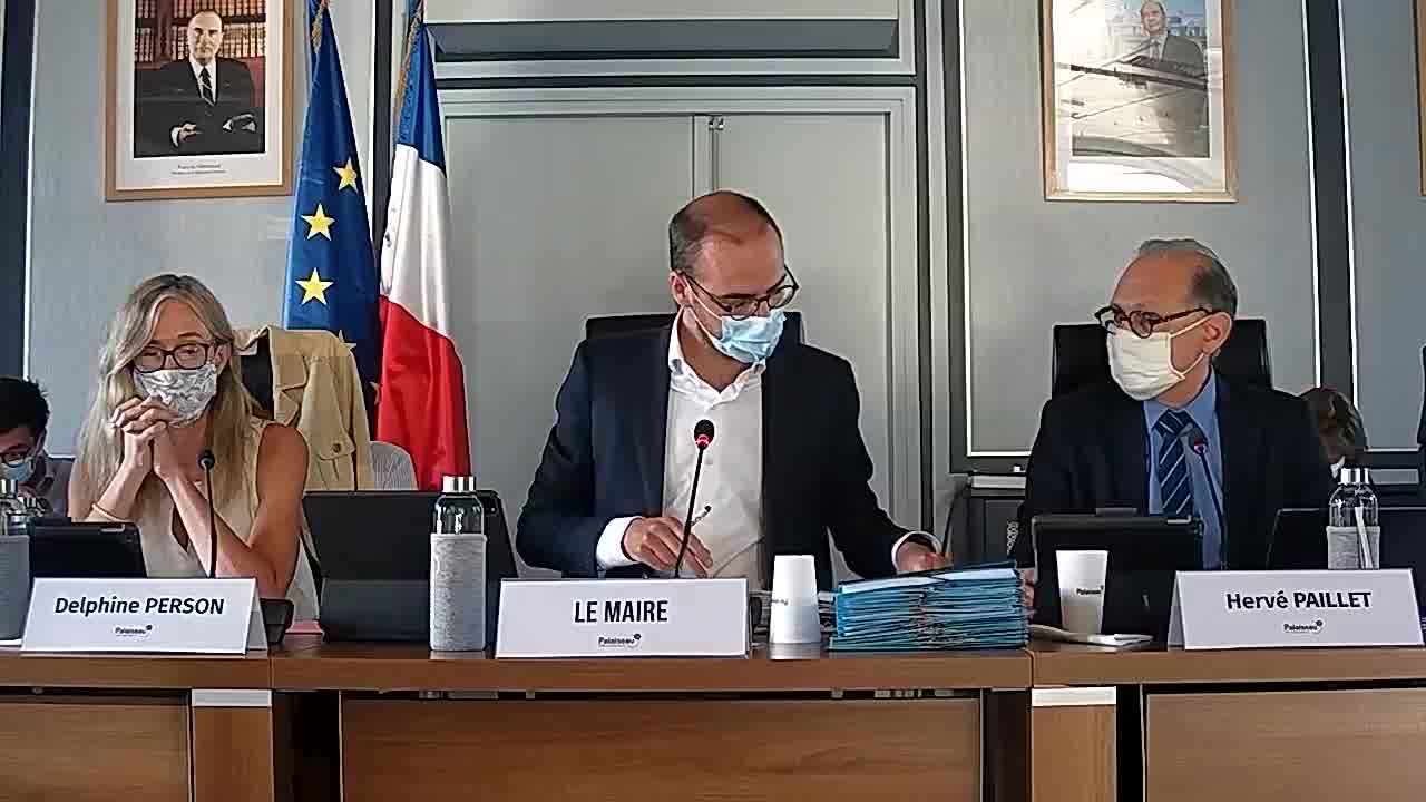 Budget Ville - Approbation du compte administratif 2019 / Rapport d'Orientation Budgétaire / Budget 2020