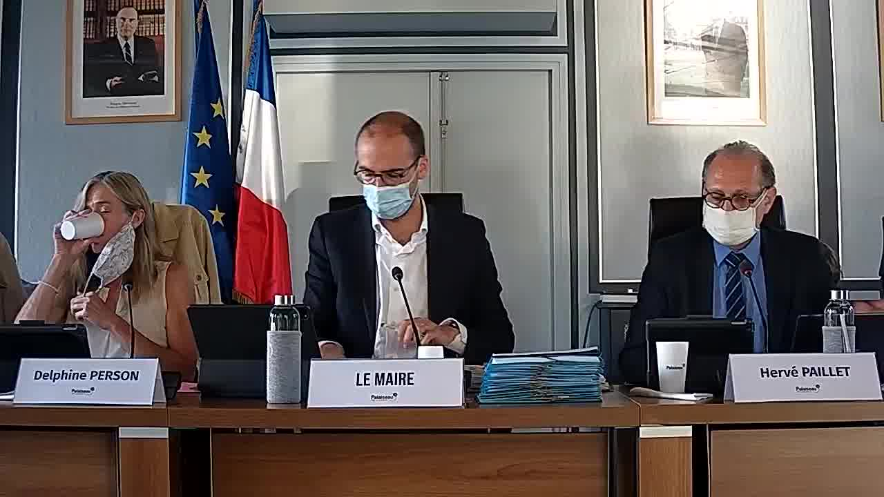 Débat relatif au Budget Ville - Compte Administratif 2019 / Rapport d'Orientation Budgétaire / Budget 2020