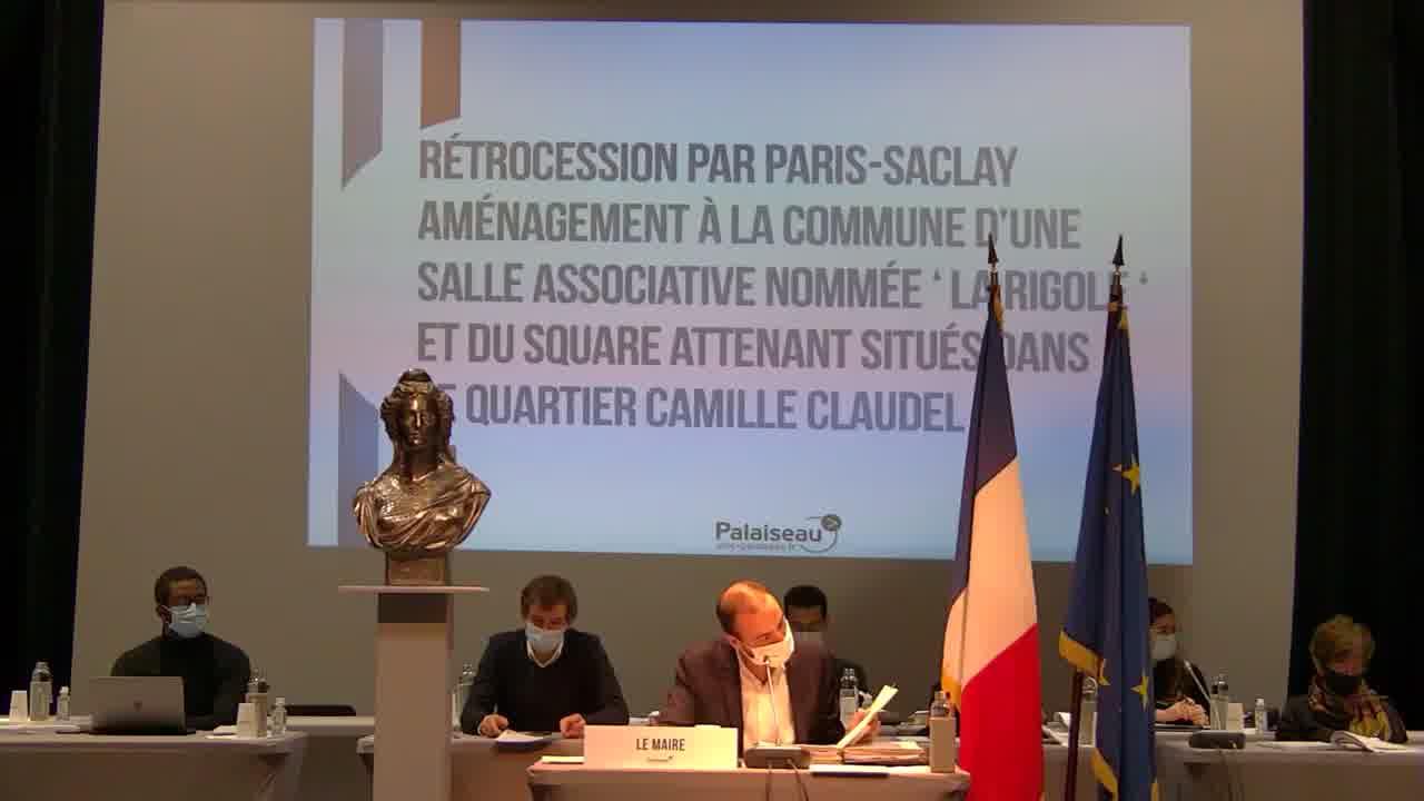 Demande d'avis du Conseil municipal sur le dossier de mise en compatibilité du PLU dans le cadre de la DUP modificative relative au projet de la ligne 18 du réseau de transport du Grand Paris Express