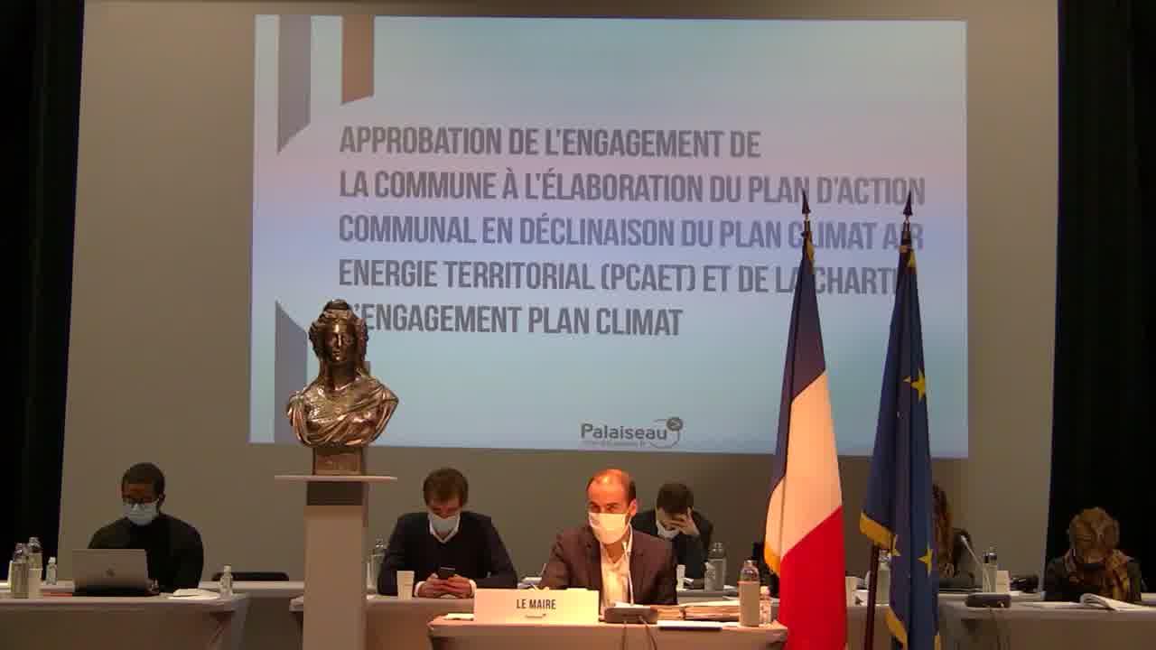 Approbation de rengagement de la commune à l'élaboration du plan d'action communal en déclinaison du Plan Climat Air Energie Territorial (PCAET) et de la charte d'engagement plan climat (suite)