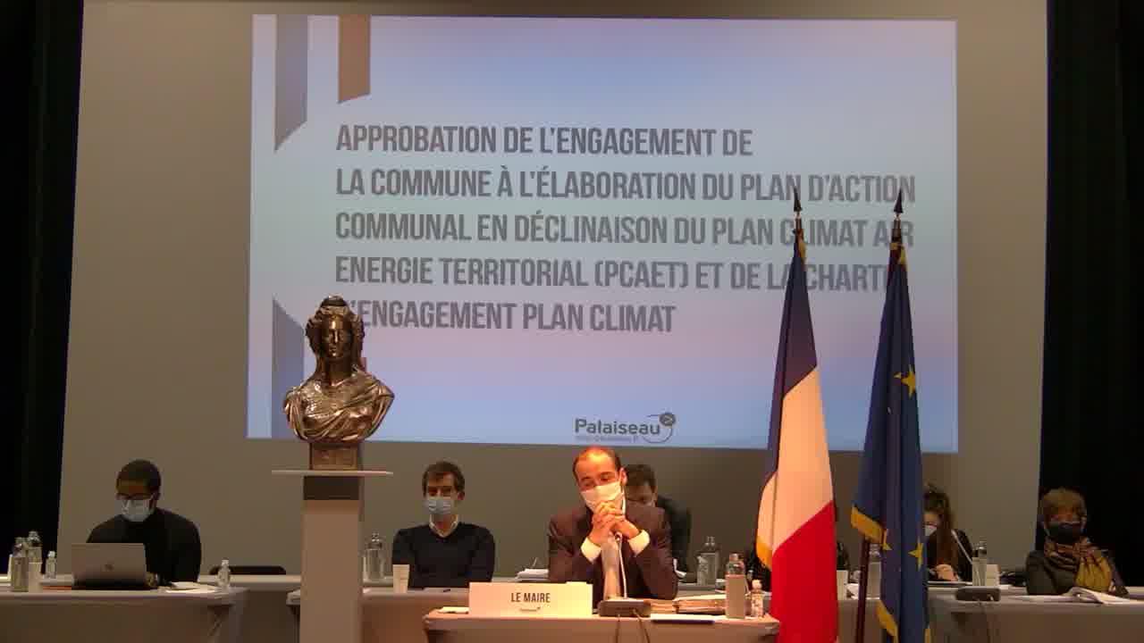 Approbation de rengagement de la commune à l'élaboration du plan d'action communal en déclinaison du Plan Climat Air Energie Territorial (PCAET) et de la charte d'engagement plan climat (suite 2)