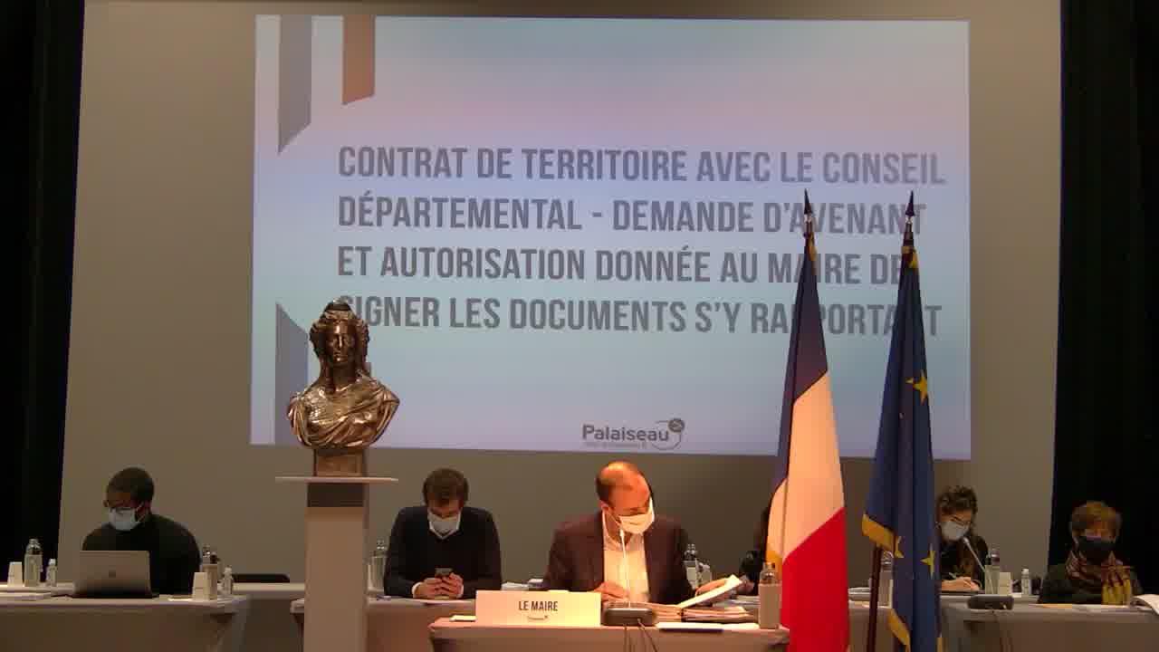 Convention pour le versement de la participation de la commune de Palaiseau au fonctionnement du réseau des navettes de la Communauté d'agglomération Paris-Saclay - Avenant n°2