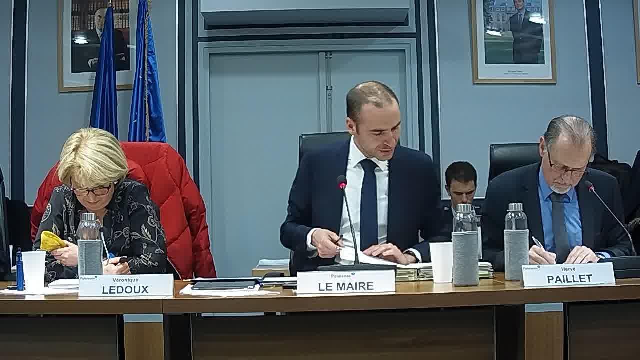 Budget Marchés Forains – Débat d'orientation budgétaire 2019