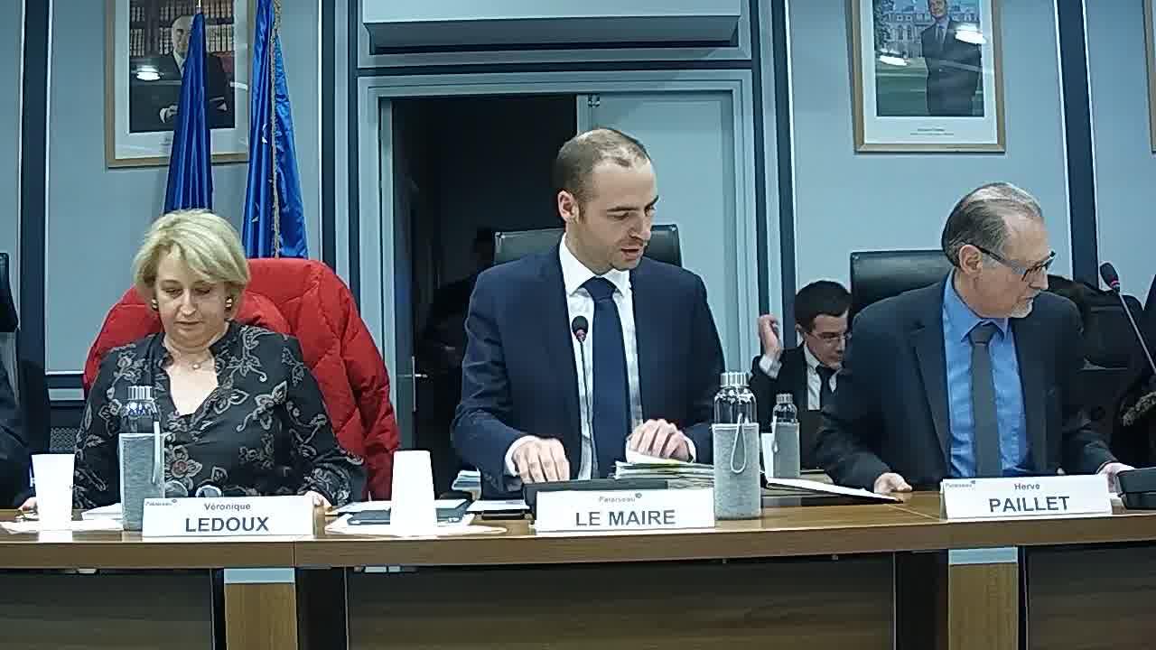 Information sur la délégation donnée au Maire dans le cadre de l'article L.2122-22 du code général des collectivités territoriales (décisions n°2018-11-290 à 2019-01-11)