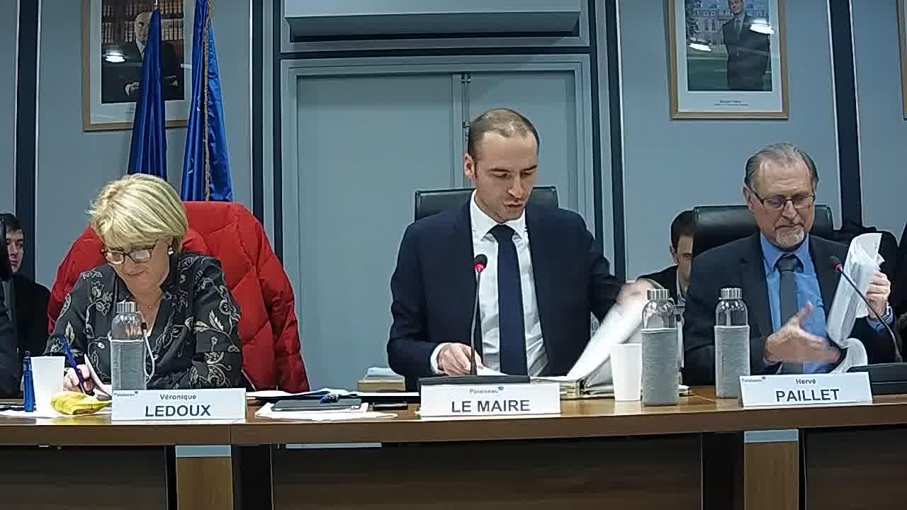 Adoption du procès-verbal du conseil municipal - Séances des 19 novembre et 10 décembre 2018