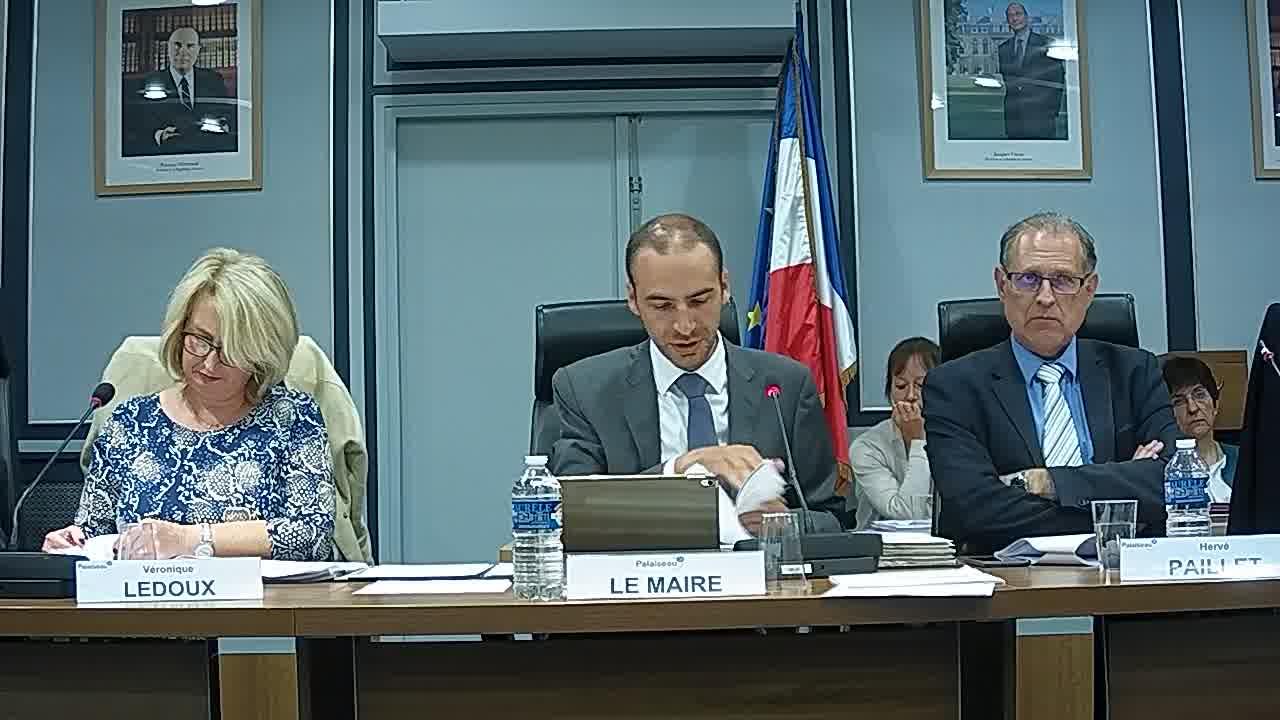 Budget Ville 2018 - Décision modificative N°1