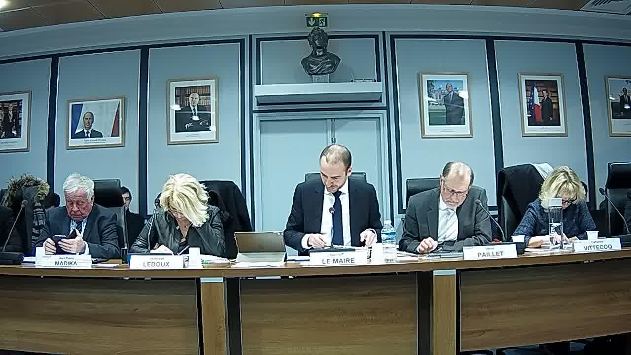 Reprise du Conseil et fin de l'Adoption du PV du conseil municipal