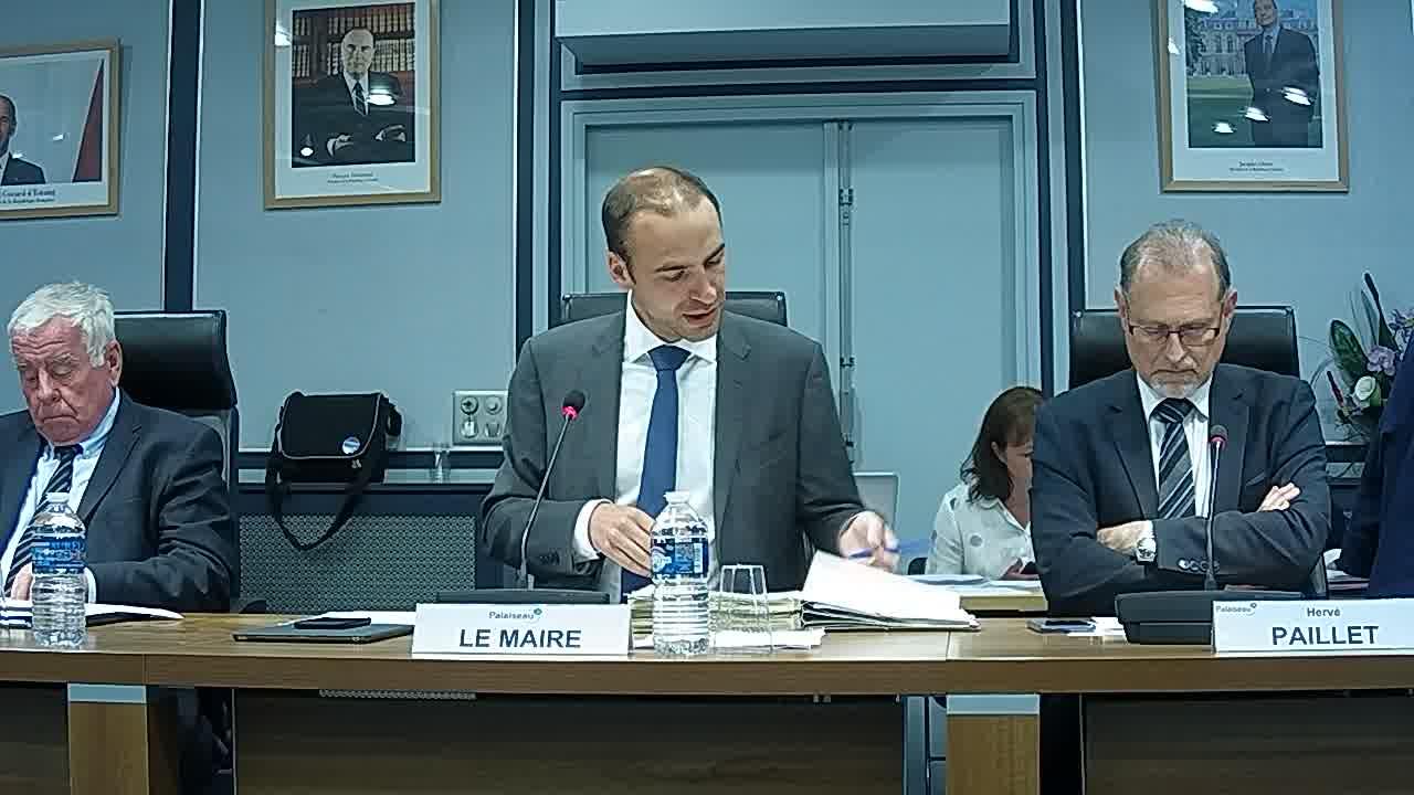 Adoption du procès-verbal du conseil municipal - Séance du 19 mars 2018
