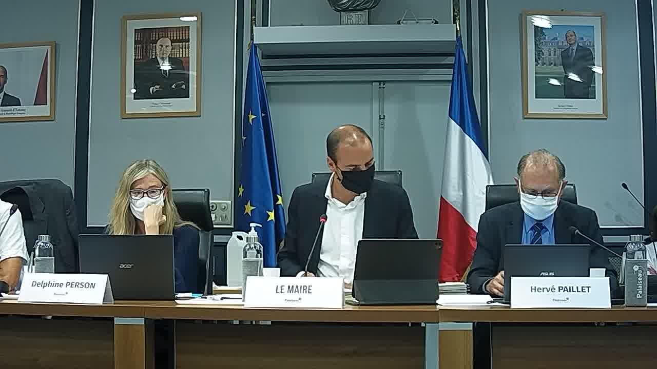 Transfert de l'emprise foncière de la parcelle BE 215 au Département de l'Essonne