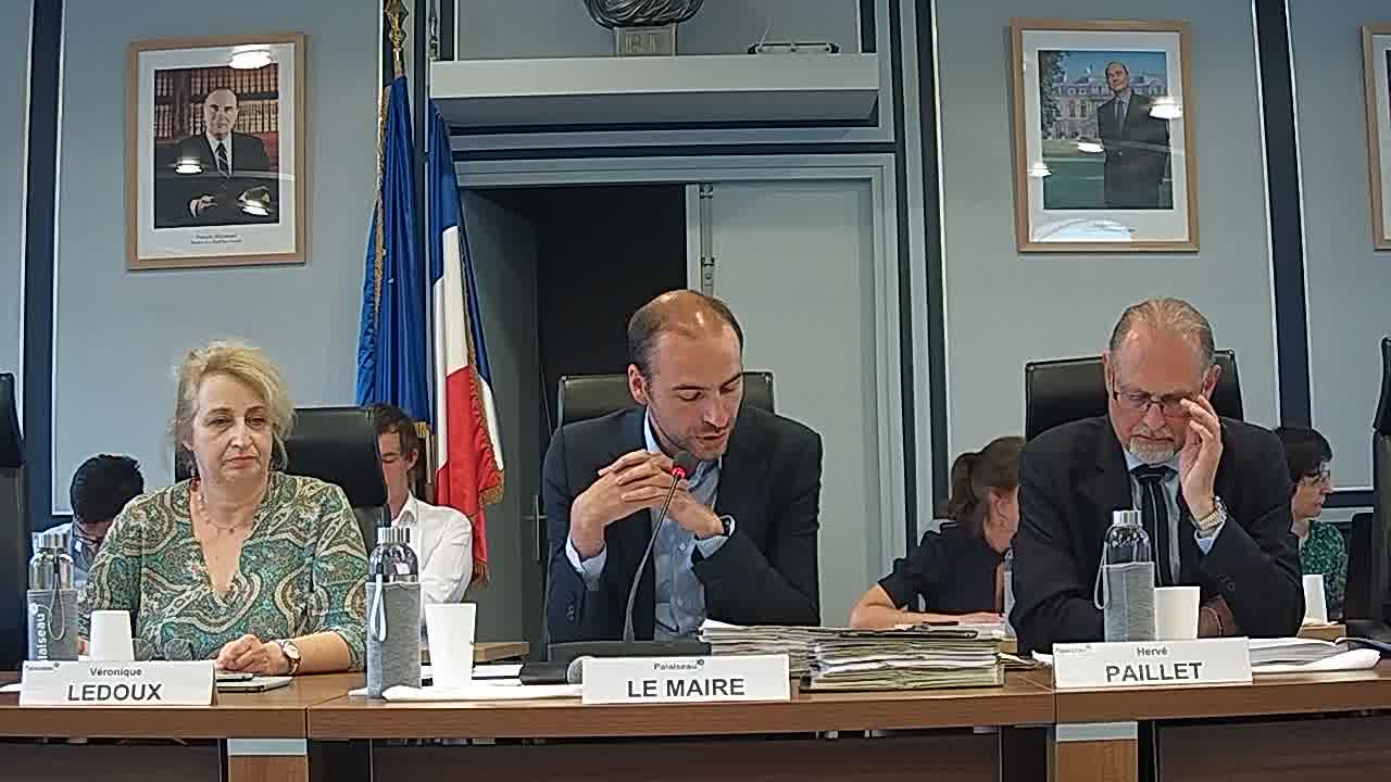 Mairie de Palaiseau – Conseil Municipal du 24 juin 2019