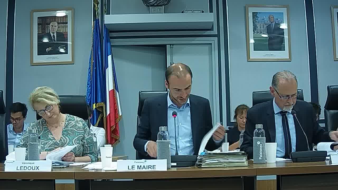 Budgets Ville, Assainissement, Cinéma et Marchés Forains - Affectation des résultats 2018 / Budget Ville 2019 - Décision modificative N°1