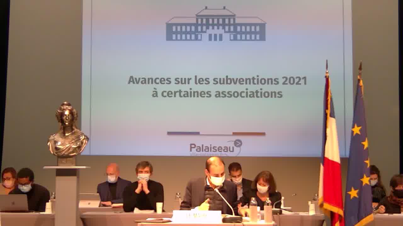 Budget Cinéma - Autorisation de dépenser en investissement avant le vote du budget 2021
