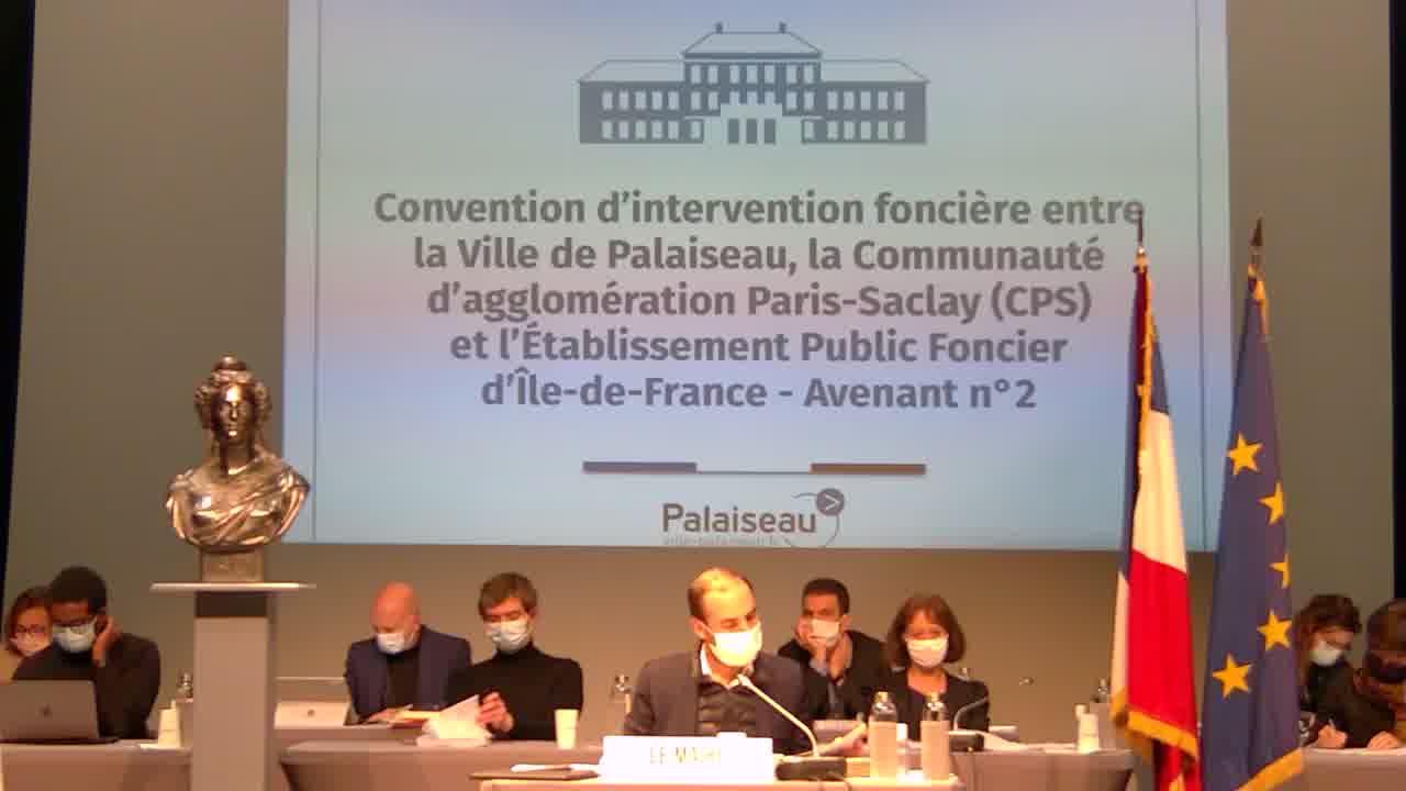 Convention bipartite entre la Ville et l'Etablissement Public Foncier d'Ile-de-France (EPFIF) - Avenant n°1 portant élargissement du périmètre d'intervention