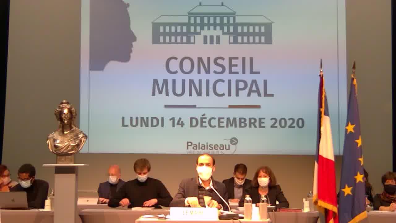 Adoption du procès-verbal du Conseil municipal - Séance du 21 septembre 2020