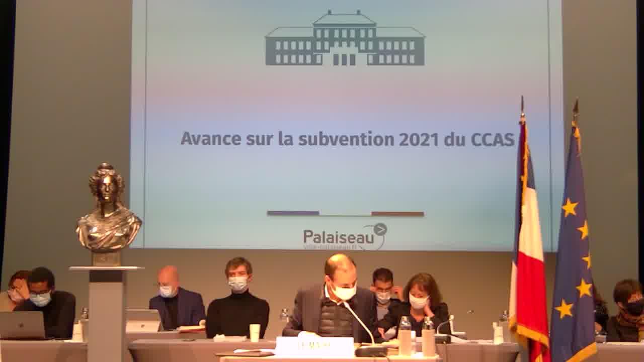 Avances sur les subventions 2021 à certaines associations