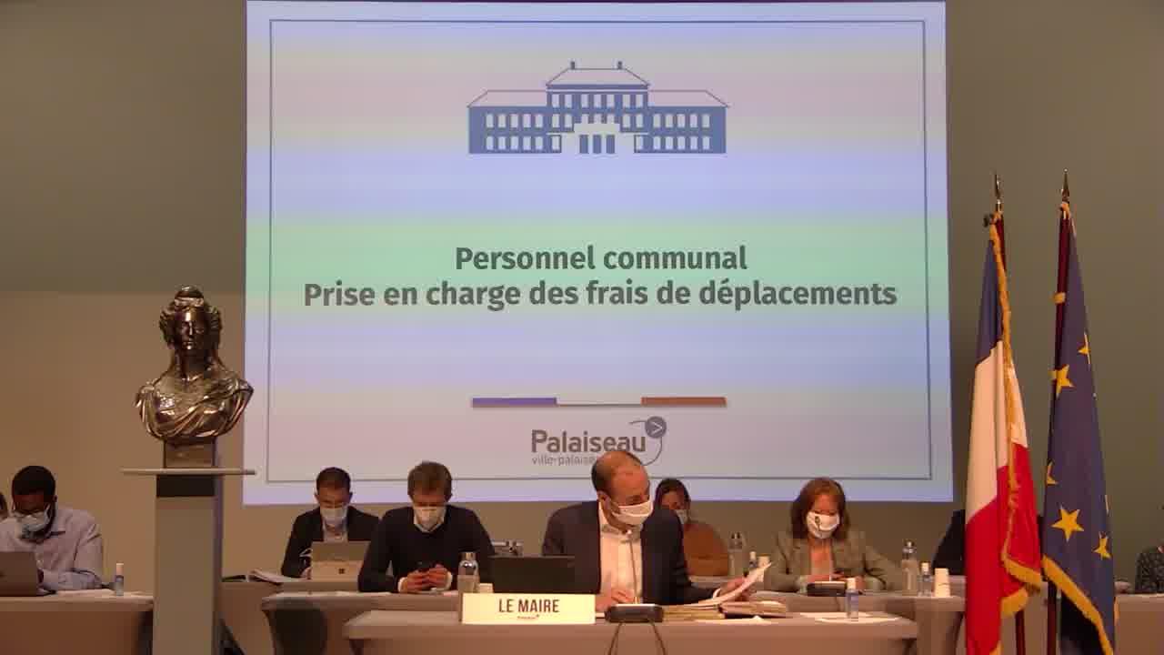 Personnel communal Temps de travail à compter du 1er janvier 2022