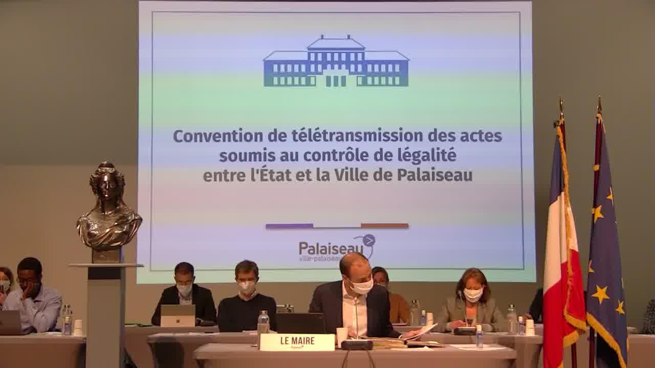 Convention pour le versement de la participation de la commune à la Communauté Paris-Saclay pour les navettes