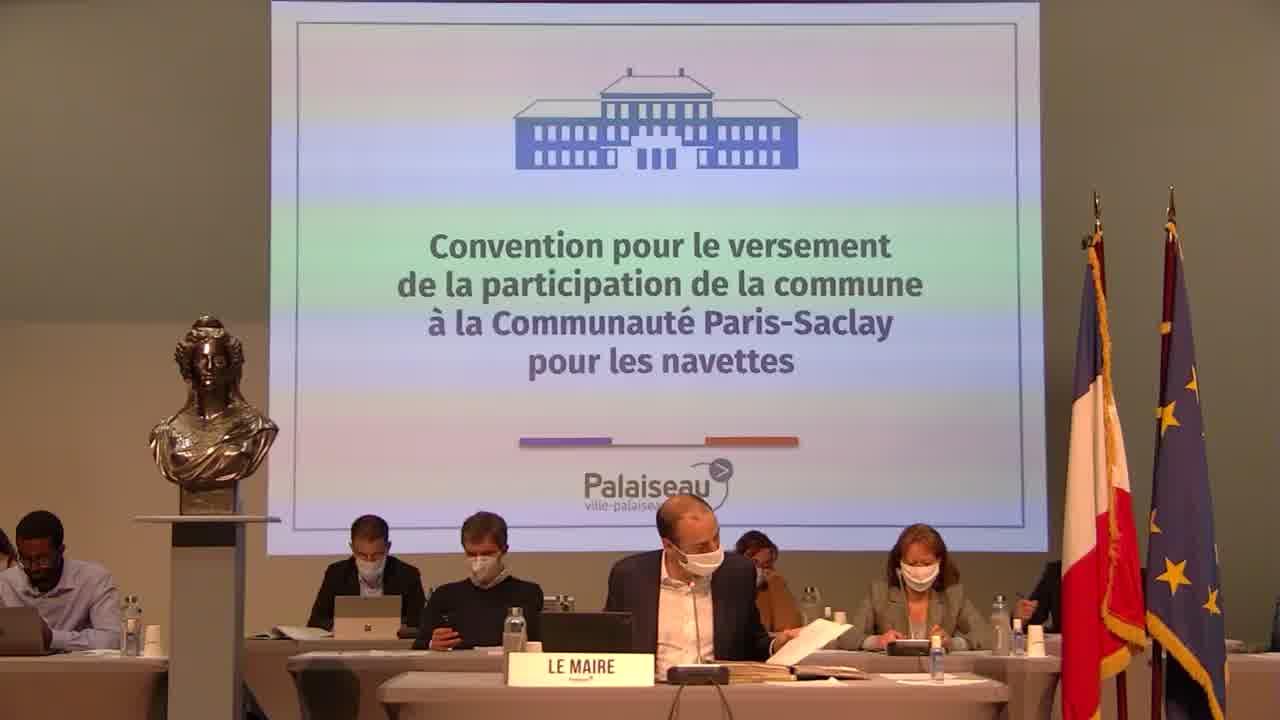 Évolution du centre de vaccination de Palaiseau en centre ouvert 7 jours sur 7