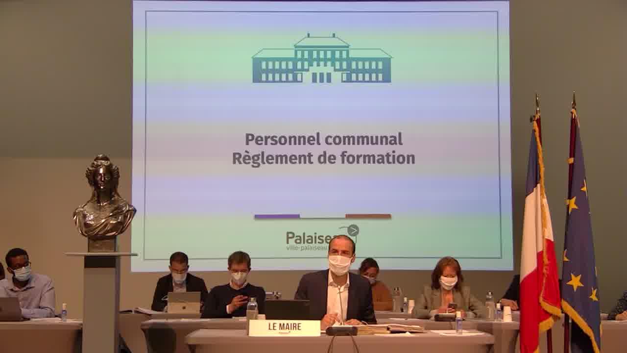 Personnel communal Règlement de formation - Votes